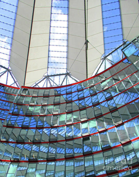 Sony Center Photograph - Sony Center 21 by Randall Weidner