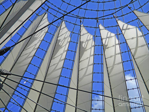 Sony Center Photograph - Sony Center 22 by Randall Weidner