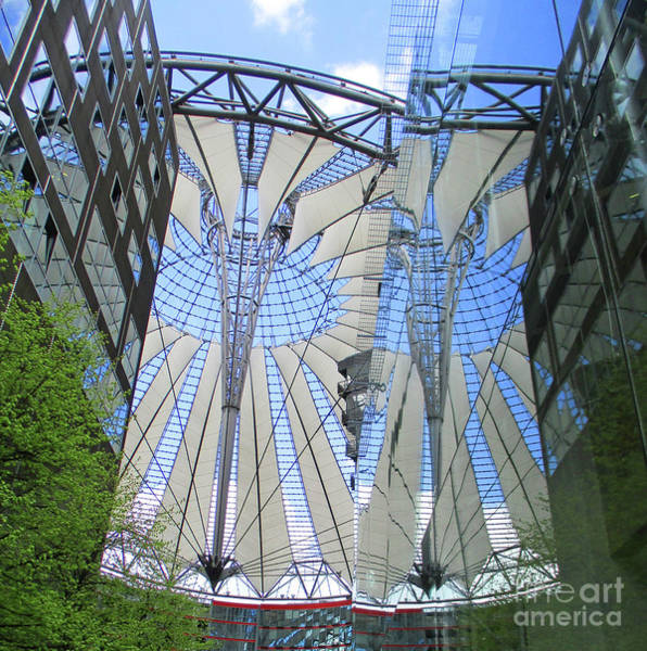 Sony Center Photograph - Sony Center 6 by Randall Weidner