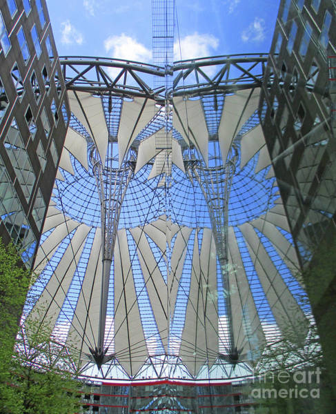 Sony Center Photograph - Sony Center 7 by Randall Weidner