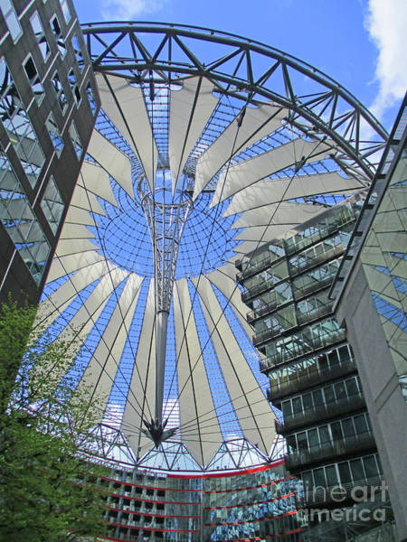 Sony Center Photograph - Sony Center 8 by Randall Weidner