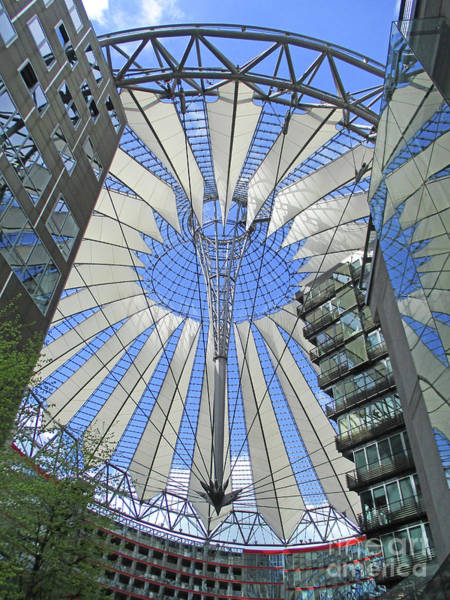 Sony Center Photograph - Sony Center 9 by Randall Weidner
