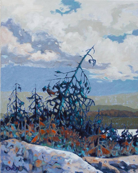 Painting - Sooke Basin 5  by Rob Owen