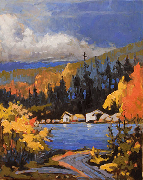 Painting - Sookie Sam's by Rob Owen