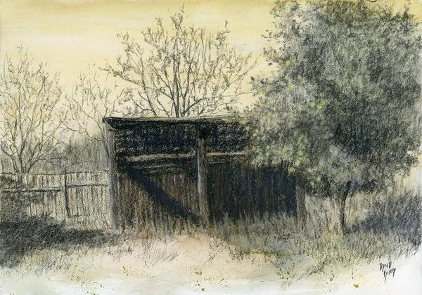 Drawing - Soon Forgotten by David King