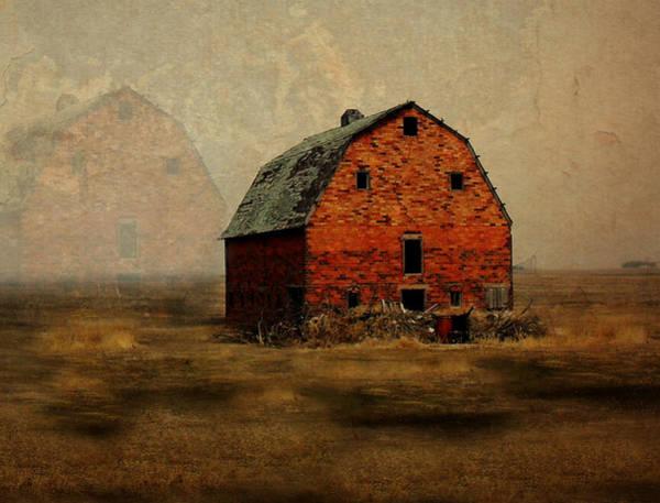 Red Brick Digital Art - Soon To Be Forgotten by Julie Hamilton