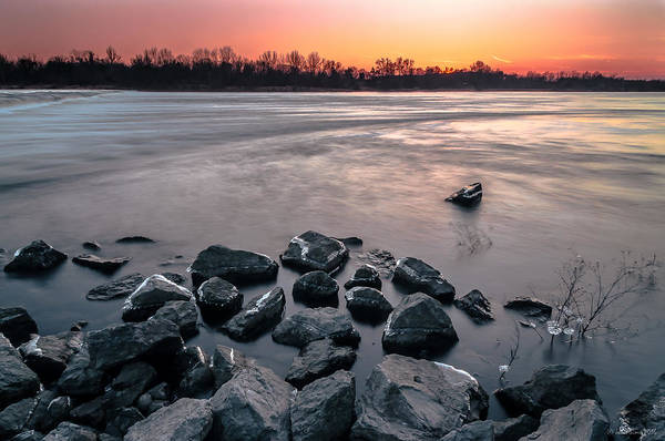 Photograph - Soon To Be Frozen by Julis Simo