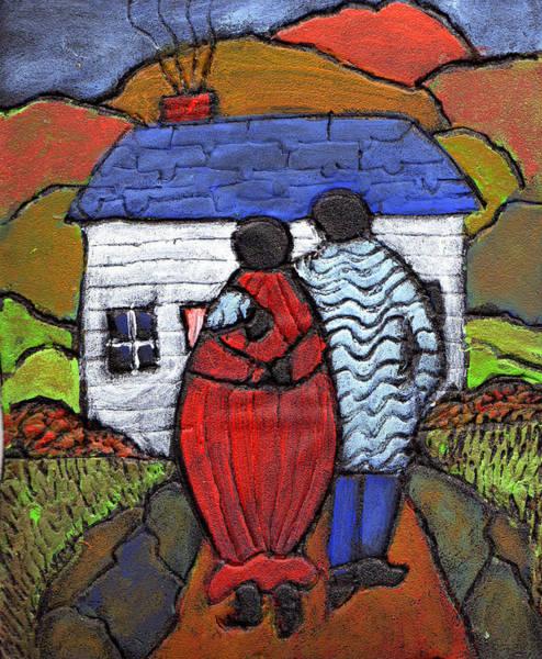 Pregnancy Painting - Soon To Be Three by Wayne Potrafka