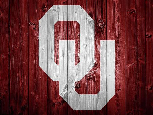 Wall Art - Photograph - Sooners Barn Door by Dan Sproul
