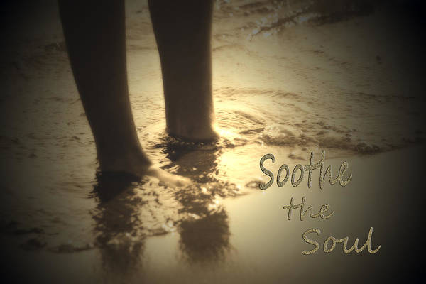 Photograph - Soothing Sand  Soothe The Soul  by Cathy Beharriell