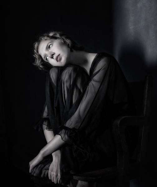 Blonde Photograph - Sophia by Derek Galon