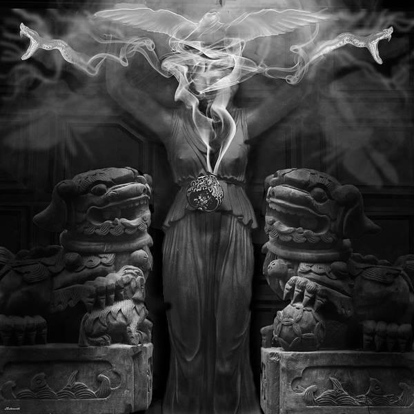 Shaman Digital Art - Sorceress by Larry Butterworth