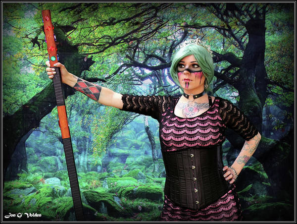 Photograph - Sorceress Of The Wood by Jon Volden