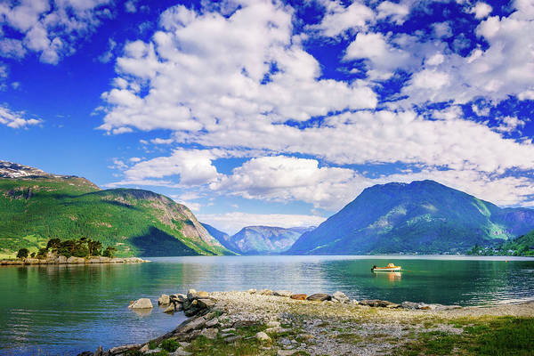 Photograph - Soreimsfjorden by Dmytro Korol