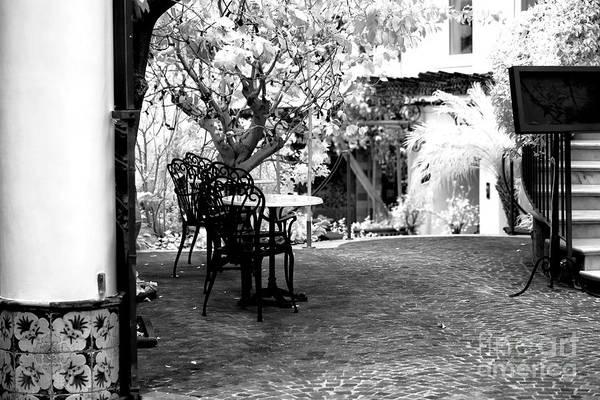 Wall Art - Photograph - Sorrento Courtyard by John Rizzuto