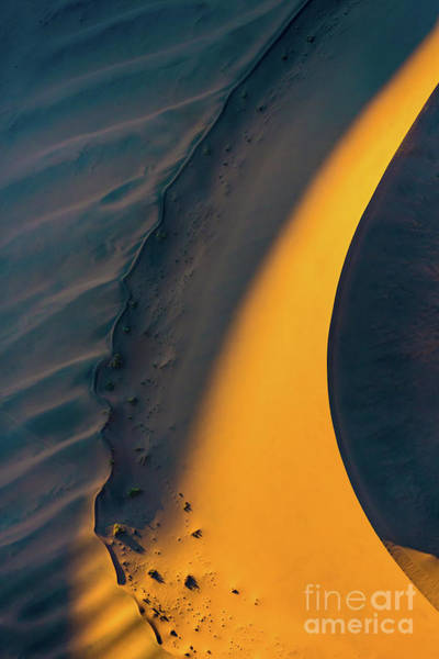 Photograph - Sossusvlei Curve by Inge Johnsson