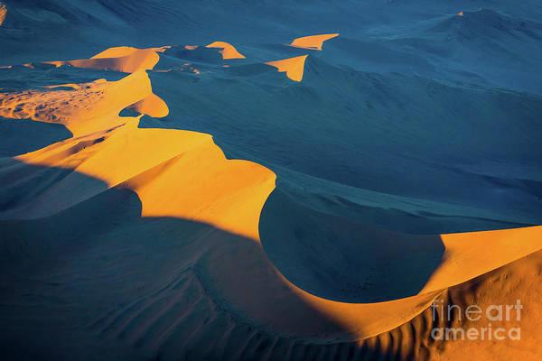 Wall Art - Photograph - Sossusvlei Shapes by Inge Johnsson