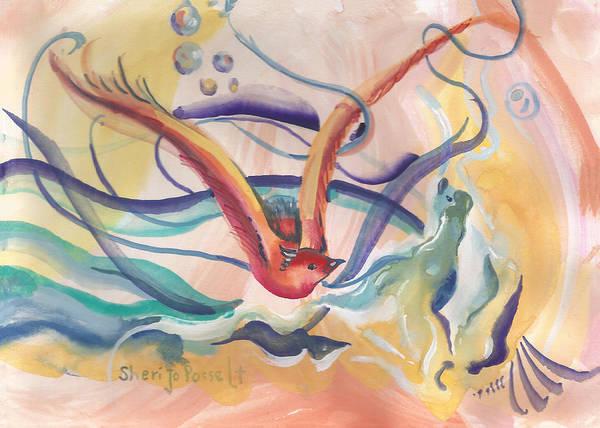 Painting - Soul by Sheri Jo Posselt