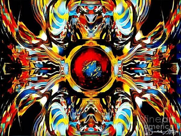 Digital Art - Soul Smoother Plein Air by Swedish Attitude Design