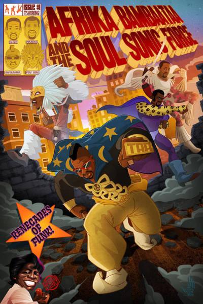 Digital Art - Soul Sonic Force by Nelson  Dedos Garcia