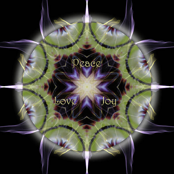 Digital Art - Soul Star Holiday Mandala by Alicia Kent