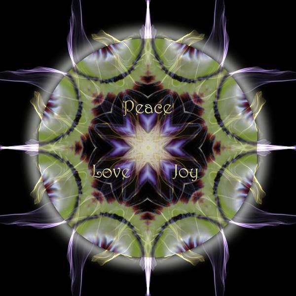 Digital Art - Soul Star Holiday Mandala by Alicia Kent