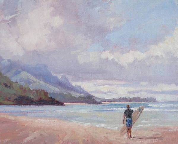 Beach Painting - Soul Surfer by Jenifer Prince