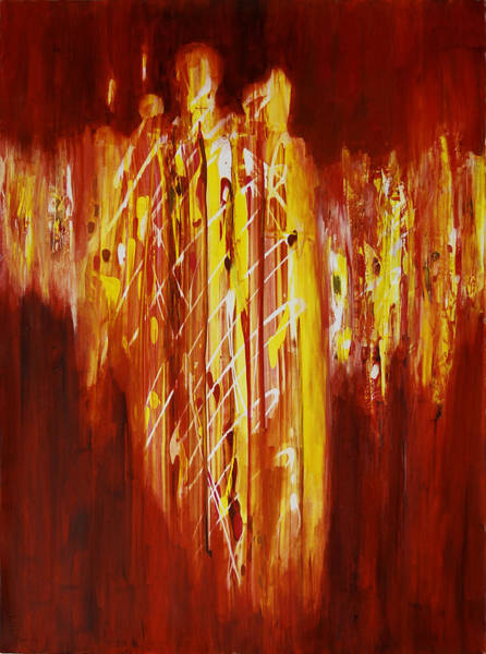 Painting - Soul Train by Tara Moorman