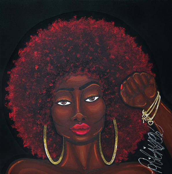 Painting - Soul Sista by Aliya Michelle