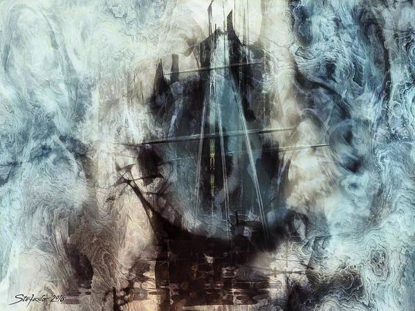 Painting - Sound Of Silence IIi by Stefano Popovski