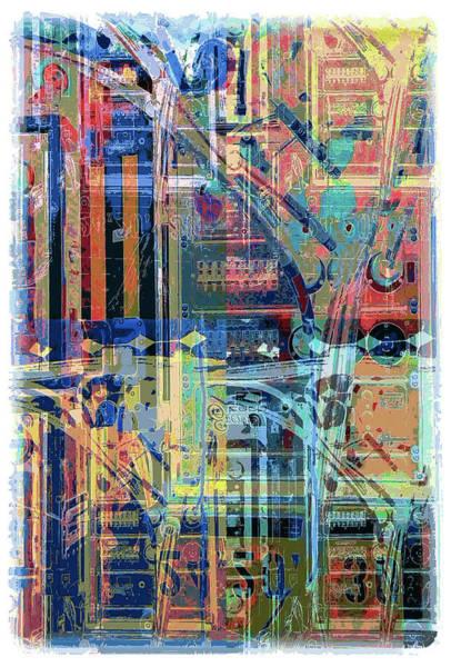 Wall Art - Digital Art - Sound Tech by Julie Flanagan