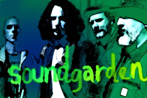 Dave Grohl Painting - Soundgarden  by Enki Art