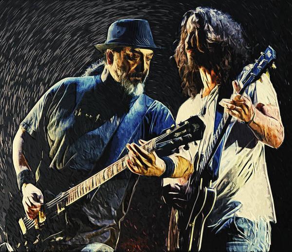 Chris Cornell Wall Art - Digital Art - Soundgarden by Zapista Zapista