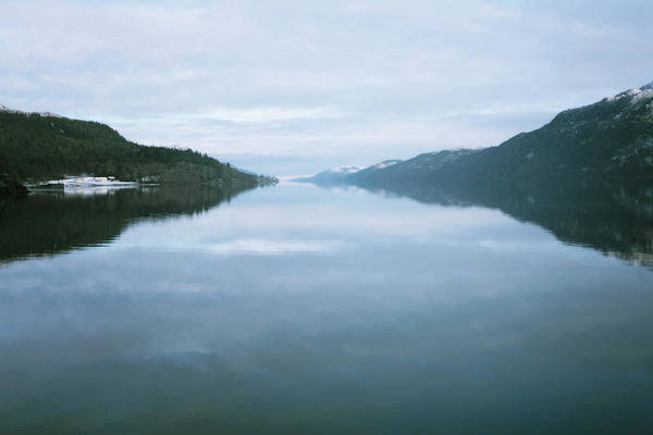 Scotland Photograph - Soundtrack- Loch Ness Shore by Cambion Art