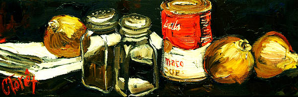 Wall Art - Painting - Soup Tonight by Carole Foret