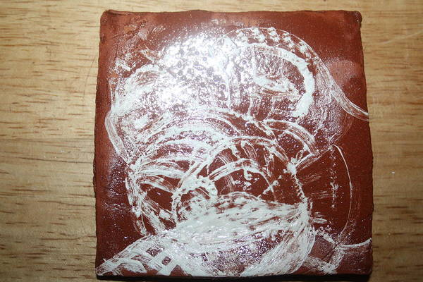 Ceramic Art - Sources -tile by Gloria Ssali