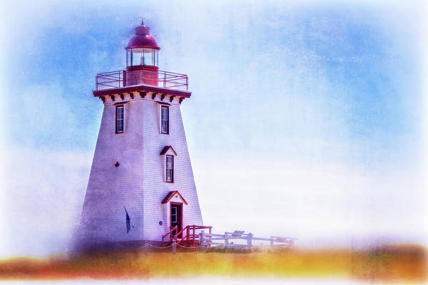 Photograph - Souris East Light by Chris Bordeleau