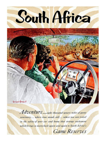 Inside Painting - South Africa, Adventure Inside Car by Long Shot