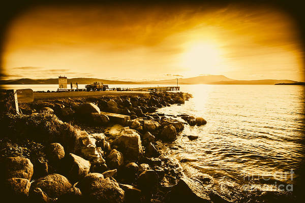 Angling Art Wall Art - Photograph - South Arm Sunset by Jorgo Photography - Wall Art Gallery