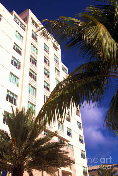 Photograph - South Beach Art Deco District by Thomas R Fletcher