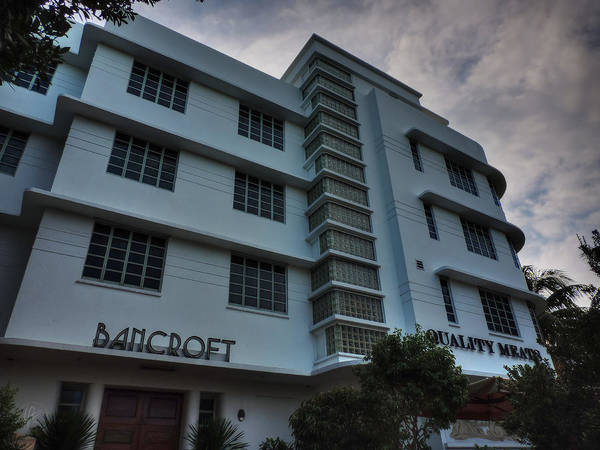 Photograph - South Beach - Bancroft Hotel 001 by Lance Vaughn