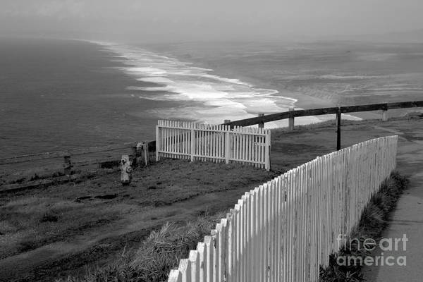Photograph - South Beach Fence by Adam Jewell