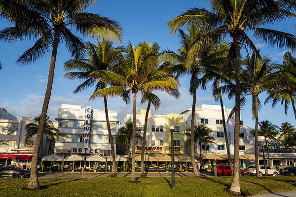 Photograph - South Beach Florida In Morning Light by Toby McGuire