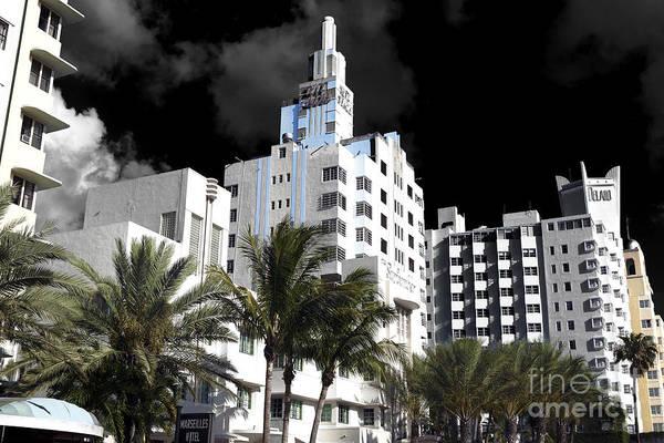Wall Art - Photograph - South Beach Hotels Fusion by John Rizzuto