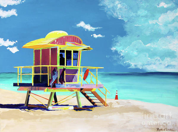 Painting - South Beach by Phyllis London
