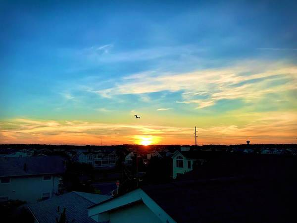 Photograph - South Bethany Sunset by Chris Montcalmo