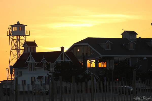 Photograph - South Boardwalk Sunset by Robert Banach