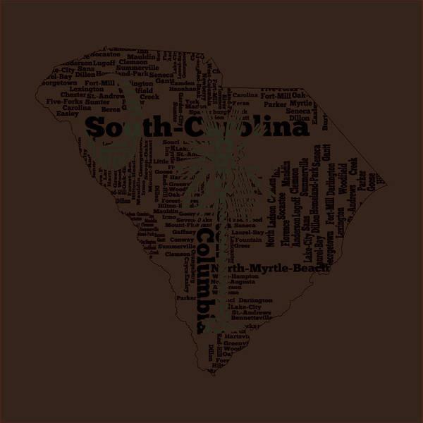 Us Civil War Mixed Media - South Carolina 11a by Brian Reaves