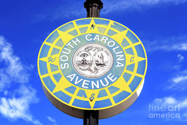 Wall Art - Photograph - South Carolina Avenue Atlantic City by John Rizzuto