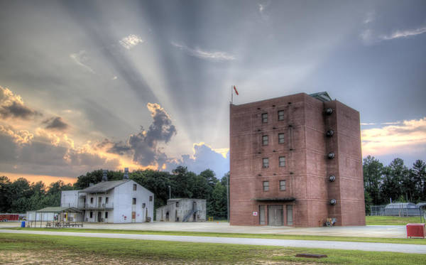 Wall Art - Photograph - South Carolina Fire Academy Tower by Dustin K Ryan